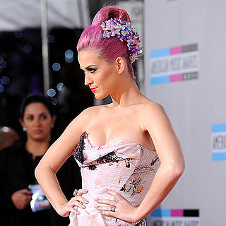 Katy Perry Pink Hair at American Music Awards Pictures