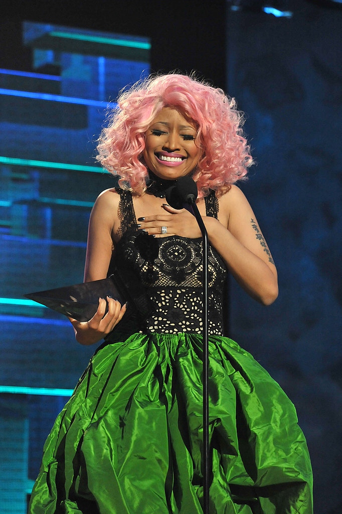 Nicki Minaj had her breath taken away.