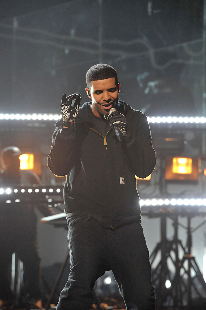 Drake performed at the 2011 American Music Awards.