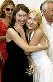 Scarlett Johansson shared a hug with her Lost in Translation director, Sofia Coppola, in 2003.