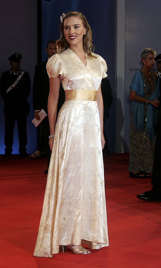 August 2006: 63rd Venice Film Festival Opening Ceremony