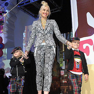 Gwen Stefani and Sons at Harajuku Mini Launch Pictures