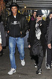 Madonna and her boyfriend Brahim Zaibat in NYC.