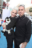 Pink swapped out her baby for a penguin with Carey Hart.