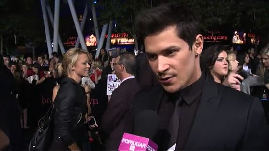 Video: Alex Meraz Talks Crazy Fan Encounters at Breaking Dawn Premiere