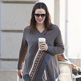 Jen rocked a fairisle sweater.