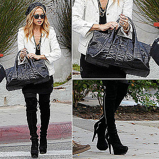 Rachel Zoe Wearing White Blazer November 14, 2011