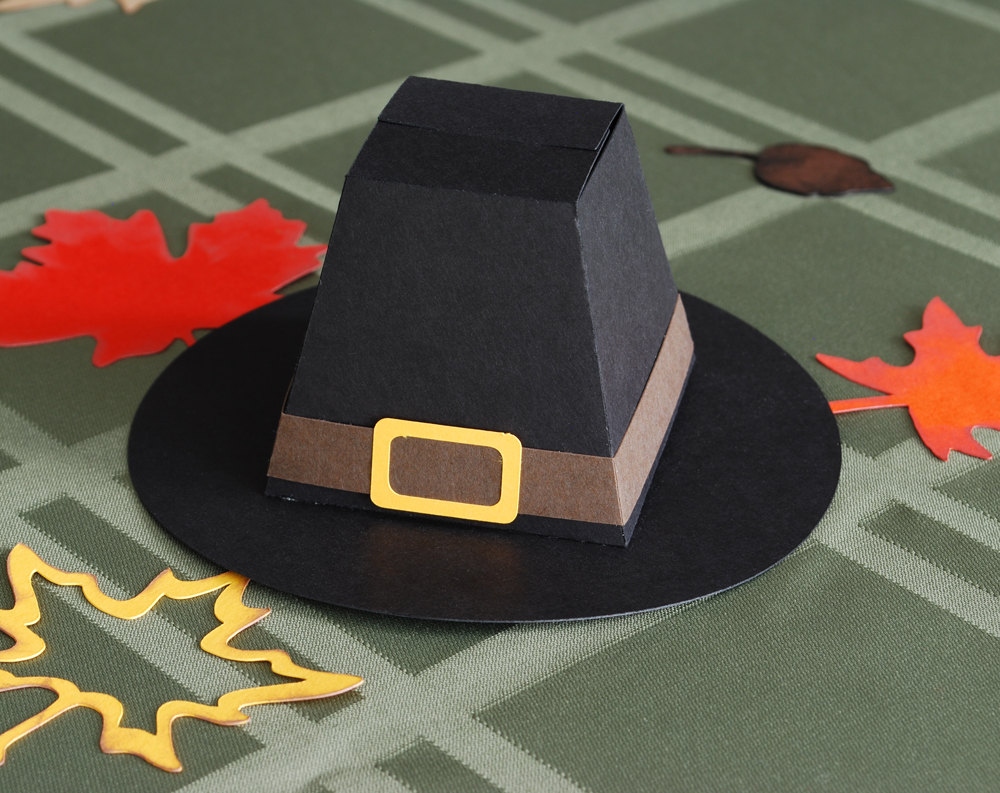 Pilgrim Hat Favor Box ($3)