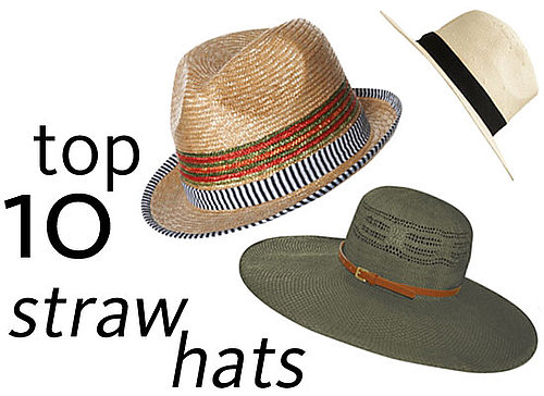 10 of the Best Stylish Straw Sun Hats for Summer: Shop Our Edit of Boaters, Panamas, Wide Brimmed, Cloche and more!