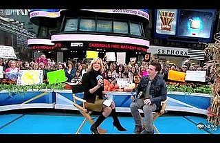 Video: Josh Hutcherson Talks Hunger Games on GMA