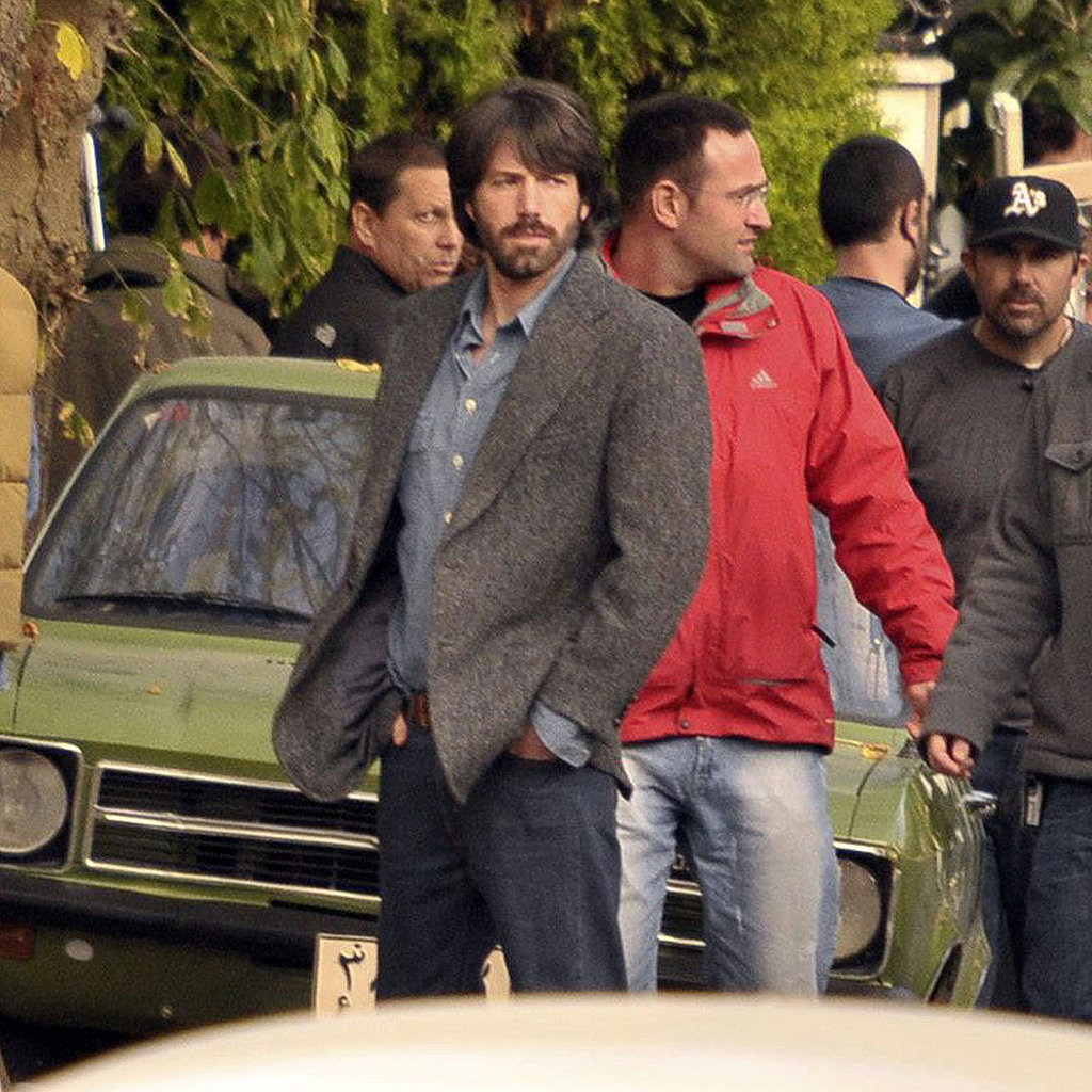 Ben Affleck Shooting Argo in Turkey Pictures