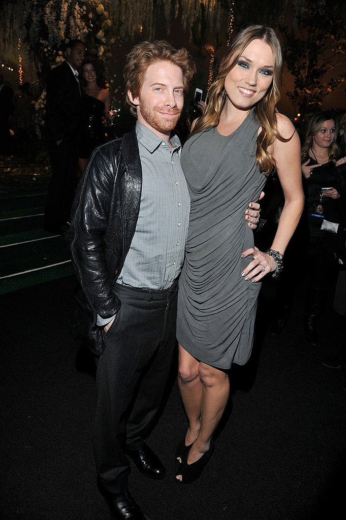 Seth Green and Clare Grant attended the Breaking Dawn after party together.