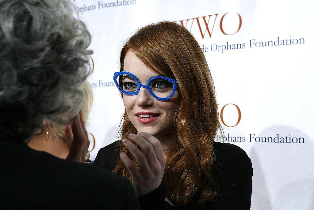 Emma Stone talked with Jane Aronson.