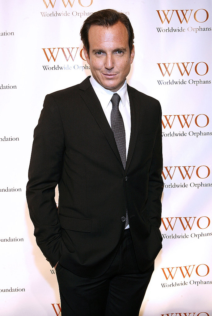 Will Arnett gave a serious stare down at the 2011 Worldwide Orphans Foundation Benefit Gala.