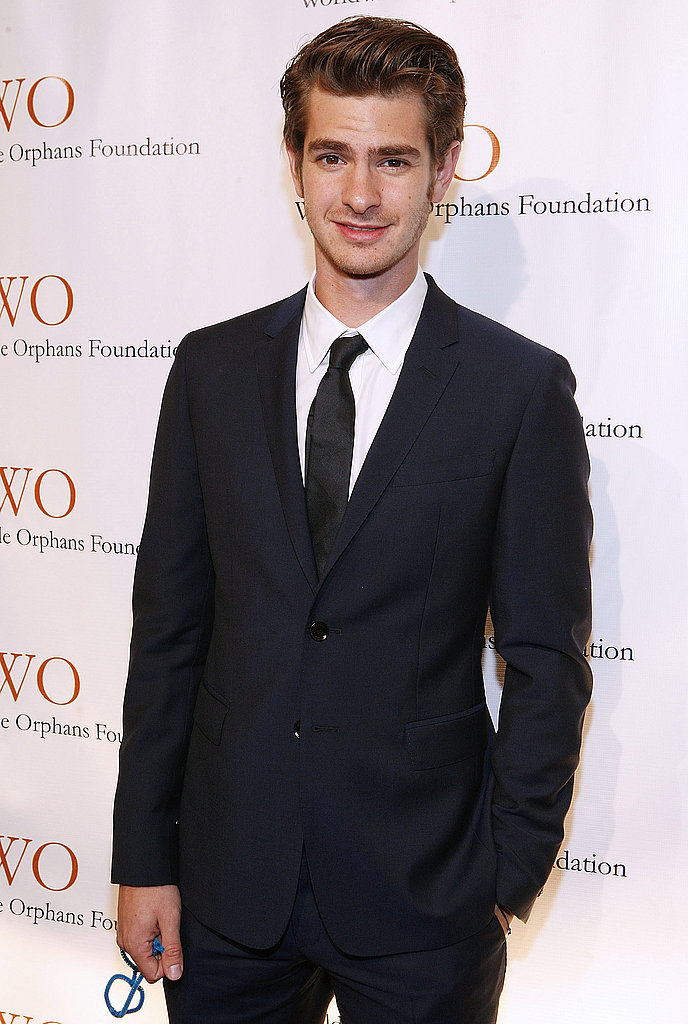 Andrew Garfield at the Worldwide Orphans Foundation's Benefit Gala in NYC.