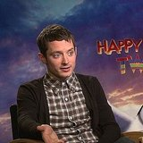 Elijah Wood Talks Happy Feet 2 and The Hobbit With PopSugar