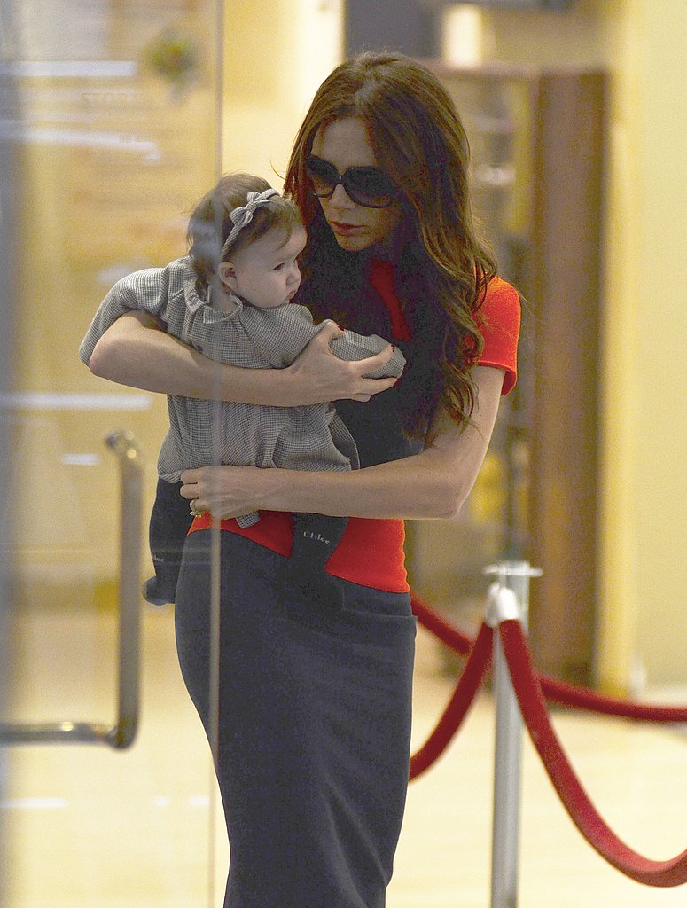 Victoria Beckham Shows Baby Harper the Joys of NYC Shopping — For Toys!