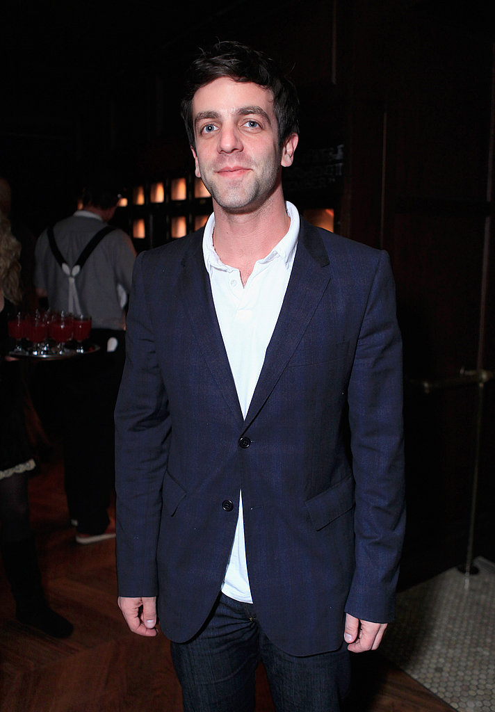 Mindy's Office costar B.J. Novak came out for the star-studded soiree.