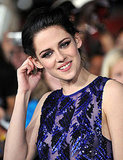 Kristen Stewart sparkled under the bright lights.