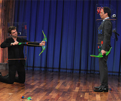 Robert Pattinson Funny Pictures with Jimmy Fallon