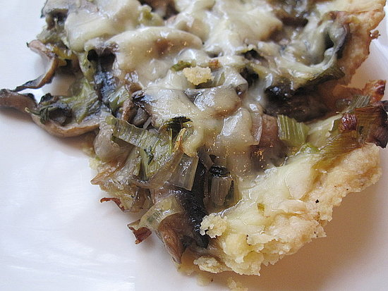 Mushroom Leek Tart