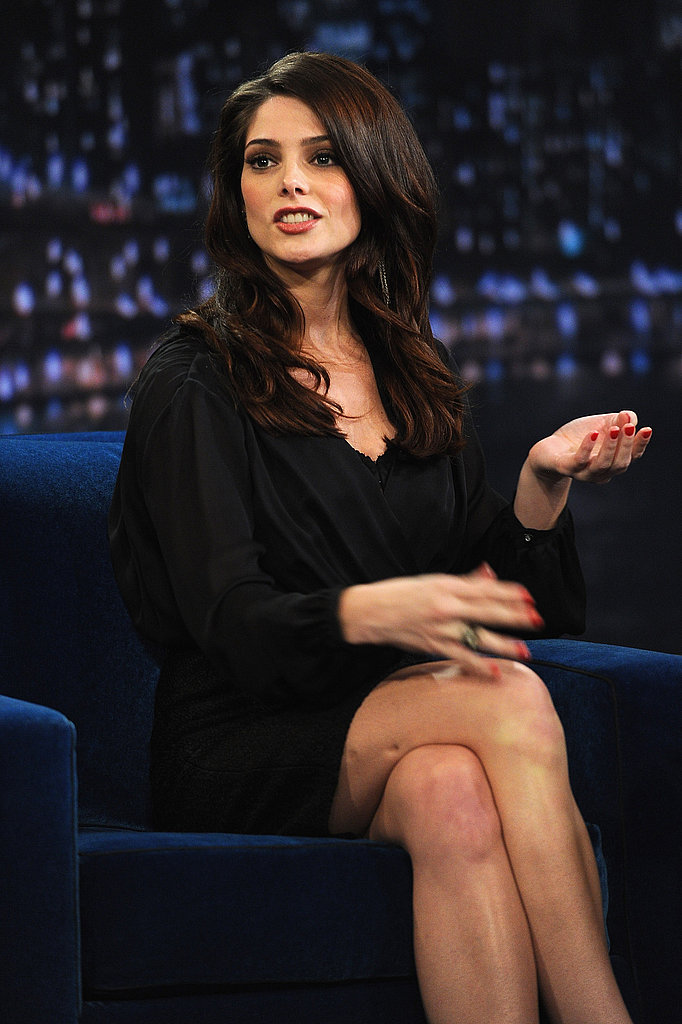 Ashley Greene captivated the audience at Late Night With Jimmy Fallon.
