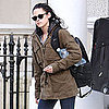 Kristen Stewart Pictures at Robert Pattinson's London Home