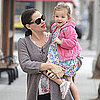 Pregnant Jennifer Garner With Seraphina in LA Pictures