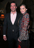 Jon Hamm and Hailee Steinfeld both dressed up for the occasion.