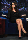 Ashley Greene made the talk show rounds for Breaking Dawn.