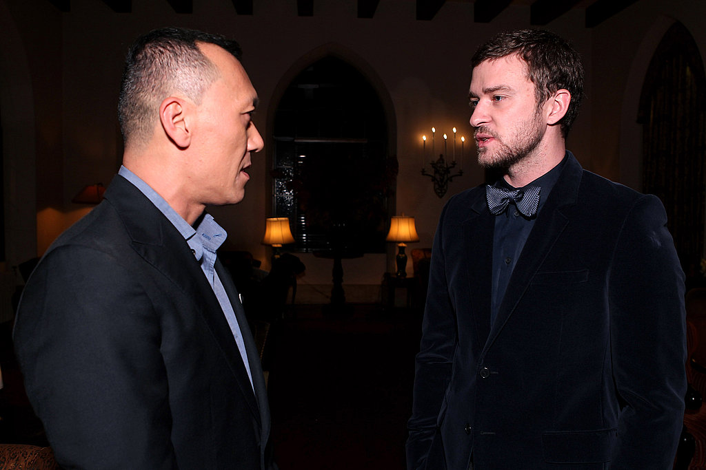 Joe Zee snagged a moment with Justin Timberlake.
