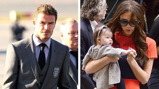 "Video: David Beckham Says Boys Will Have ""No Chance"" With Harper"