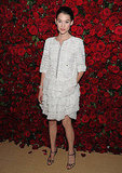 Astrid Berges-Frisbey attended a party in honor of Pedro Almodovar in NYC.