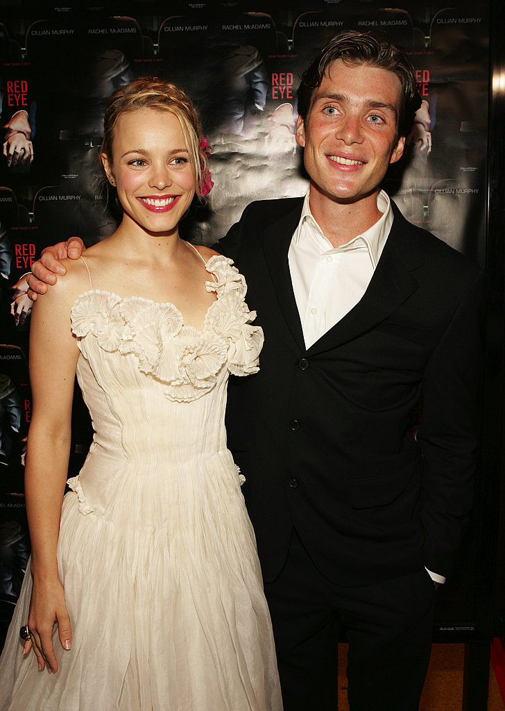 Rachel hit the red carpet with Cillian Murphy at the Red Eye premiere in 2005.