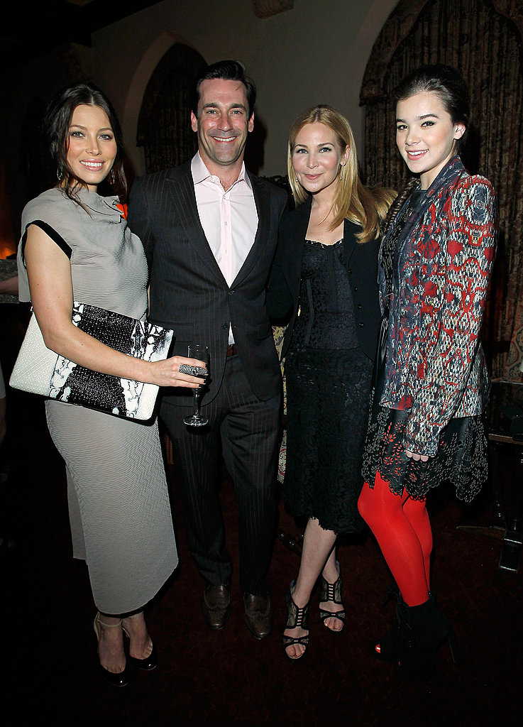 Jessica, Jon, Jennifer, and Hailee snapped a fashionable photo together.