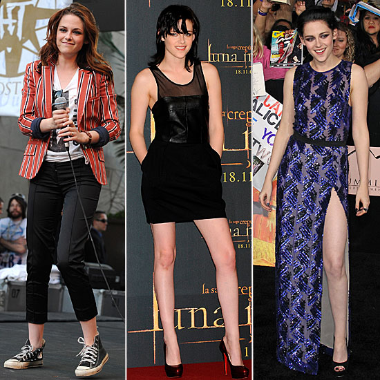 Breaking Dawn Hits Theatres Today — See Kristen Stewart's Red Carpet Evolution