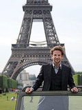 Bradley Cooper, who speaks fluent French, looked très chic in Paris in 2010.