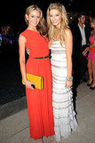 Jesinta Campbell and Delta Goodrem