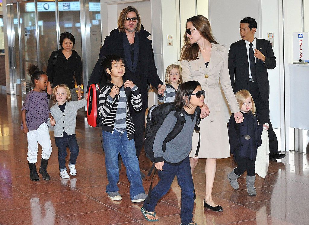 The Jolie-Pitts' Jet-Setting Summer
