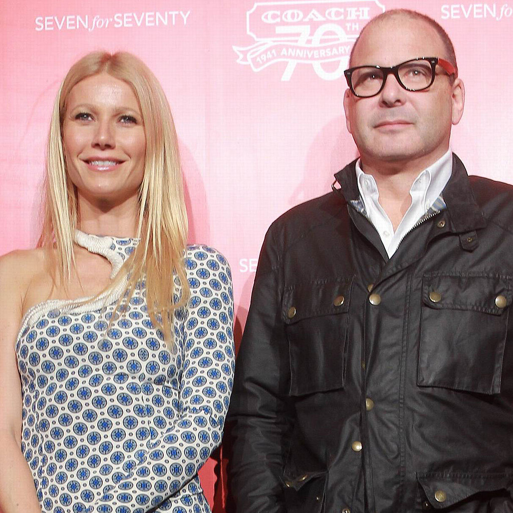 Gwyneth Paltrow and Reed Krakoff at a Coach party in Beijing.