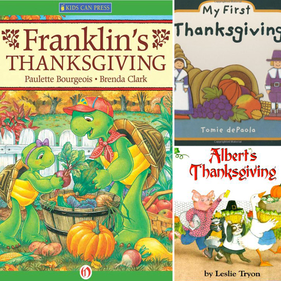 Books to Get Tots Excited About Thanksgiving