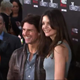 Tom Cruise, Katie Holmes on Red Carpet For Their Anniversary
