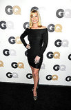 Jaime Pressly looked sexy in an off-the-shoulder dress.
