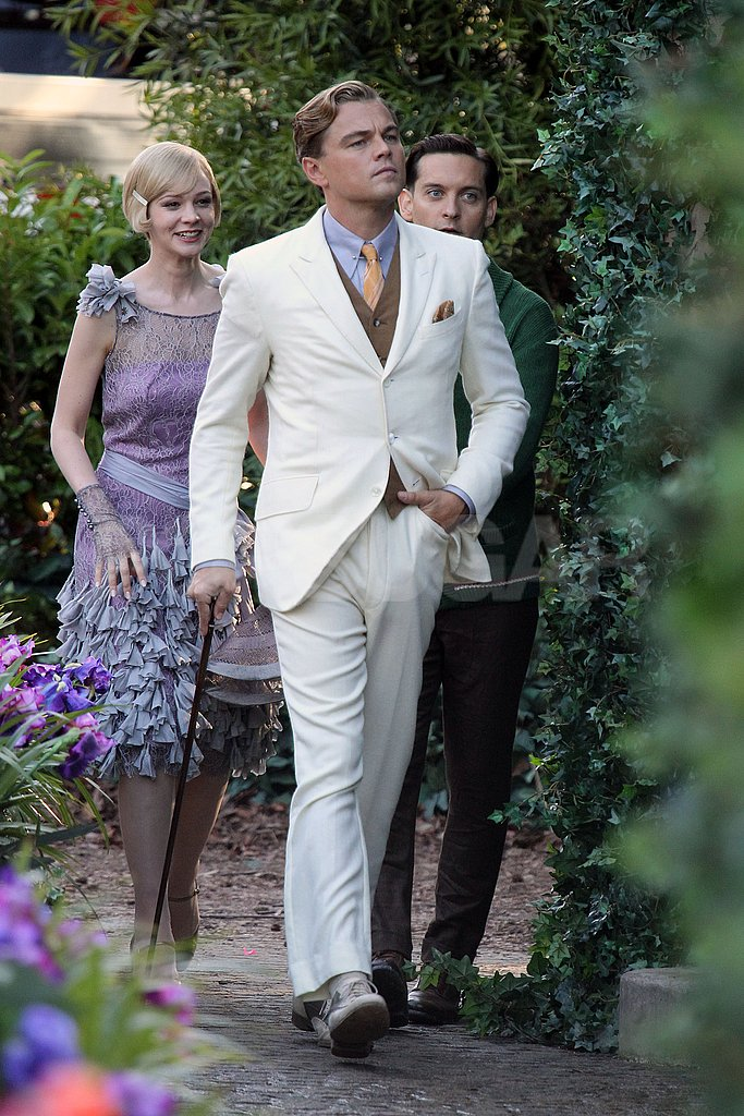 Leonardo DiCaprio, Carey Mulligan and Tobey Maguire filmed The Great Gatsby in Sydney's Millennium Park.
