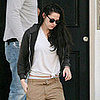 Kristen Stewart Outside of London Apartment Pictures