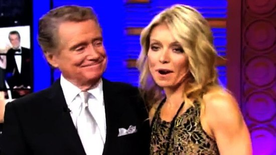 Video: See Regis Philbin's Tearful TV Goodbye