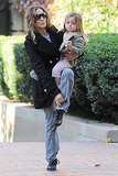 Sarah Jessica Parker and daughter Tabitha Broderick.