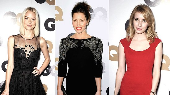 Jessica Biel and Emma Roberts Turn Up the Heat at the GQ Party