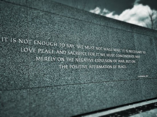 The MLK Monument - Washington DC