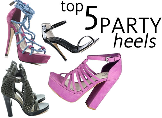 The Friday Fab Fast Five: Summer's Hottest Heels